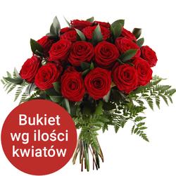 Bukiet 17 róż